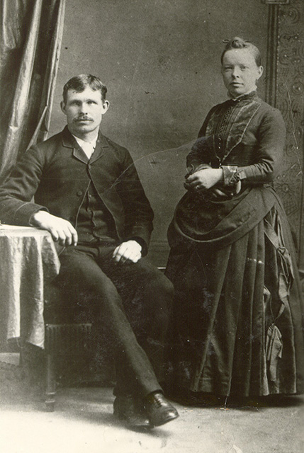 1888 William & Ellen Bullis