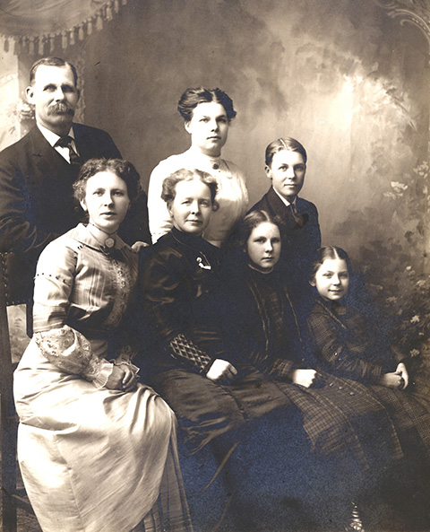 Family of William & Ellen Bullis