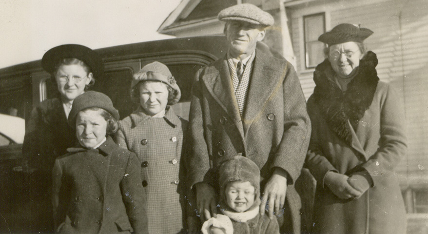 c1940 Harry & Bessie Butters Family