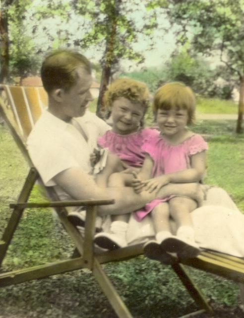 c1936 Ade & daughters