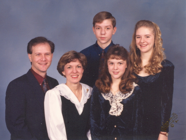 1992 Brad & Lisa Williams Family
