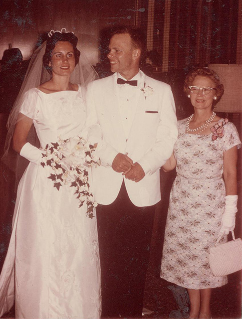 1963 wedding Jan & Skip-Lessie Garrison